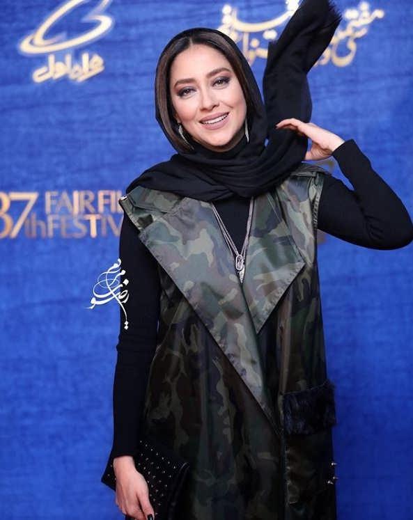 تیپ بازیگران در جشنواره فیلم فجر ۹۷ - بهاره کیان افشار