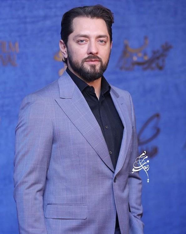 تیپ بازیگران در جشنواره فیلم فجر ۹۷ - بهرام رادان