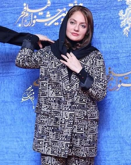 تیپ بازیگران در جشنواره فیلم فجر ۹۷ - تیپ مهناز افشار