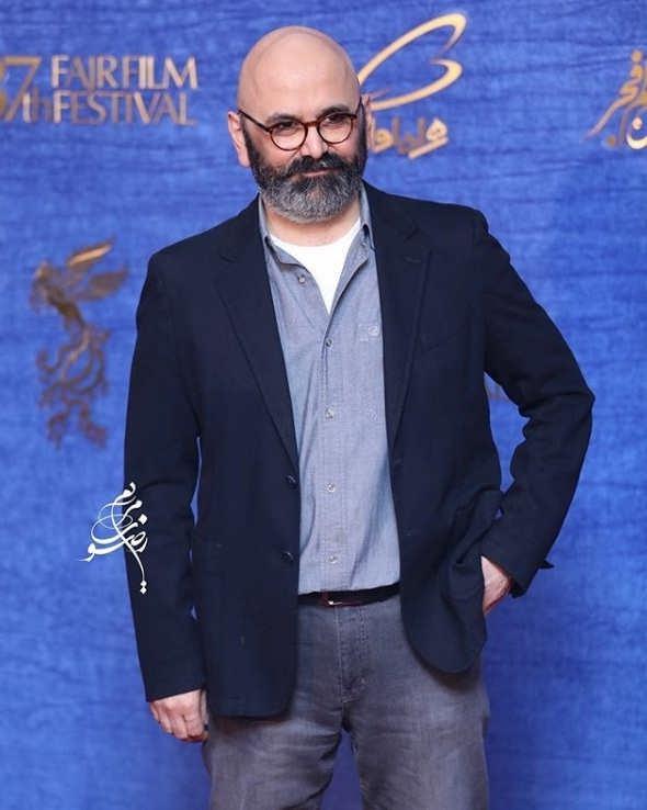 تیپ بازیگران در جشنواره فیلم فجر ۹۷ - حبیب رضایی