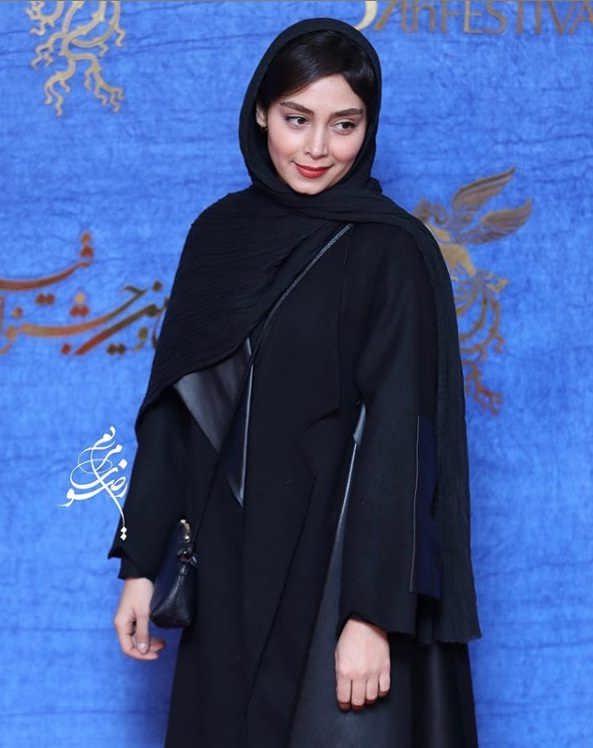 تیپ بازیگران در جشنواره فیلم فجر ۹۷ - دیبا زاهدی