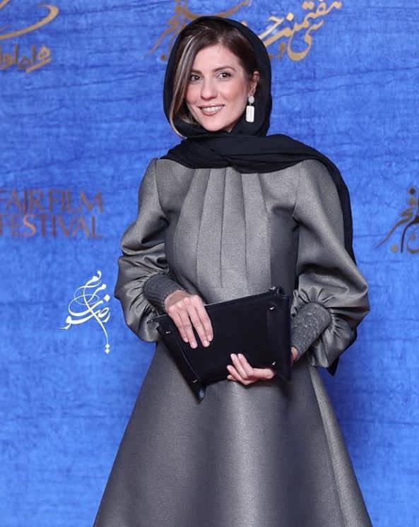 تیپ بازیگران در جشنواره فیلم فجر ۹۷ - سارا بهرامی