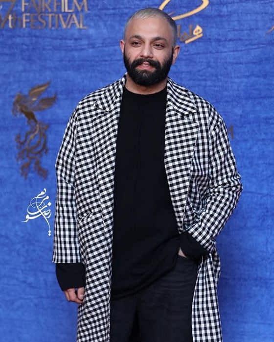 تیپ بازیگران در جشنواره فیلم فجر ۹۷ - صابر ابر