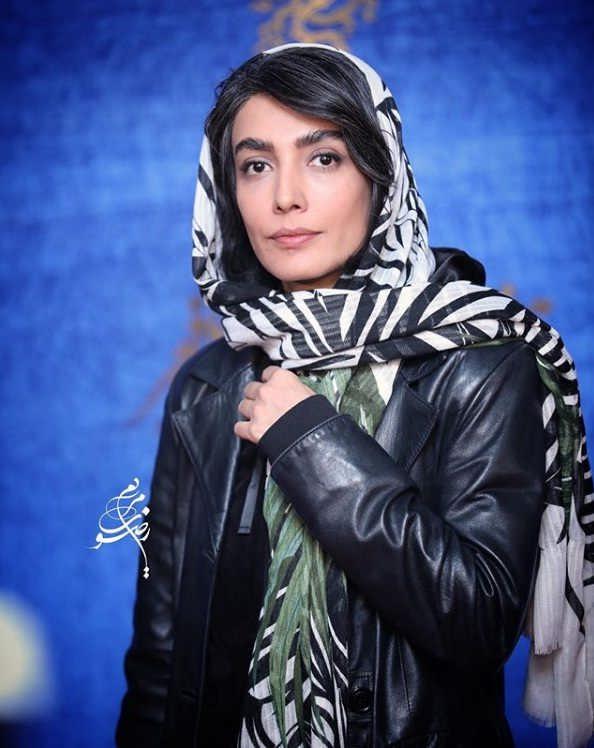 تیپ بازیگران در جشنواره فیلم فجر ۹۷ - لیلا زارع