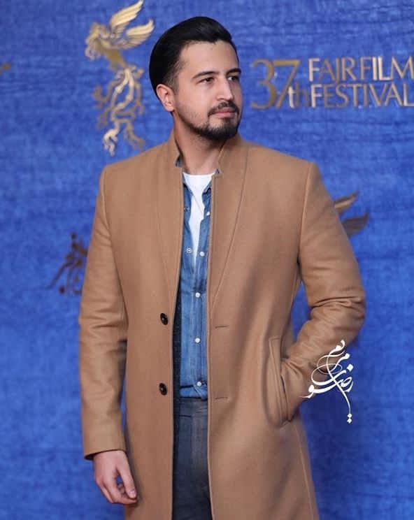 تیپ بازیگران در جشنواره فیلم فجر ۹۷ - مهرداد صدیقیان ۲