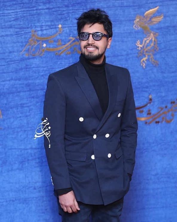 تیپ بازیگران در جشنواره فیلم فجر ۹۷ - مهرداد صدیقیان