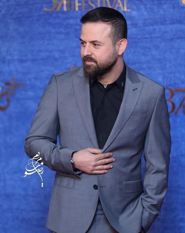 تیپ بازیگران در جشنواره فیلم فجر ۹۷ - هومن سیدی