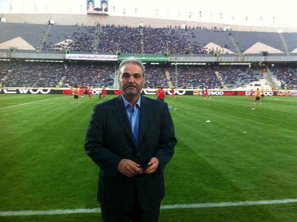 عکس های جواد خیابانی مجری و گزارشگر فوتبال