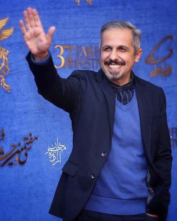 جواد رضویان در اکران فیلم زهرمار