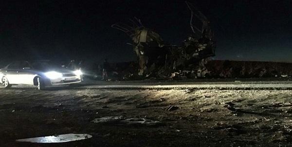 جزئیات حادثه تروریستی سیستان اتوبوس سپاه