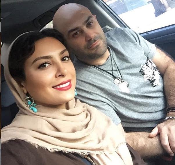 دلتنگی حدیثه تهرانی برای همسرش!
