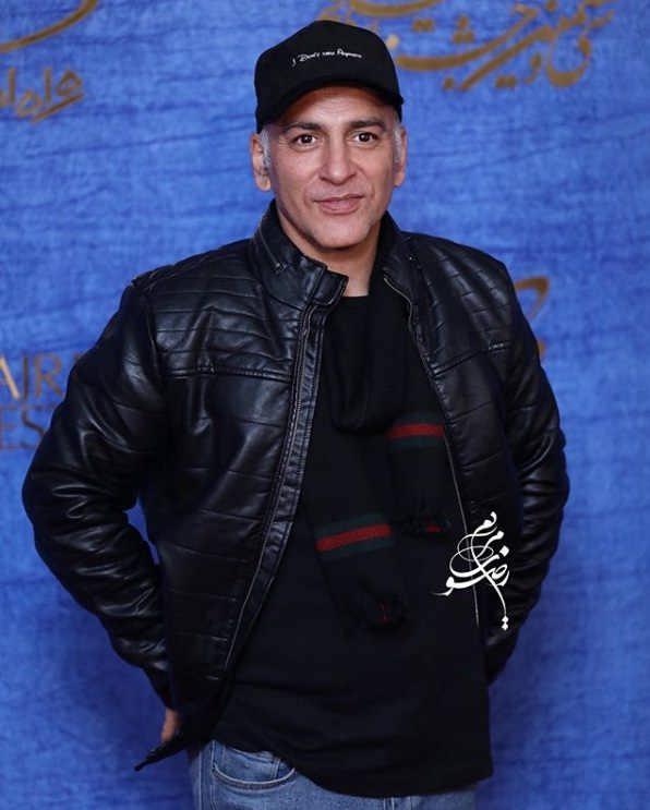 تیپ بازیگران در جشنواره فیلم فجر ۹۷ - حمیدرضا آذرنگ
