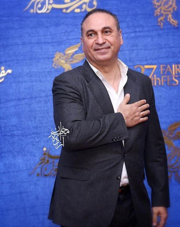 حمید فرخ نژاد در اکران فیلم سمفونی نهم
