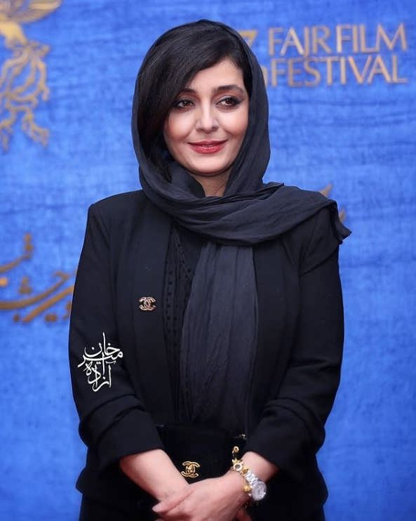 ساره بیات در اکران فیلم سمفونی نهم