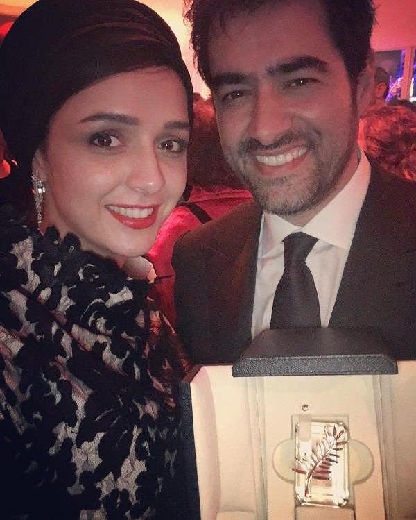 سلفی ترانه علیدوستی و شهاب حسینی