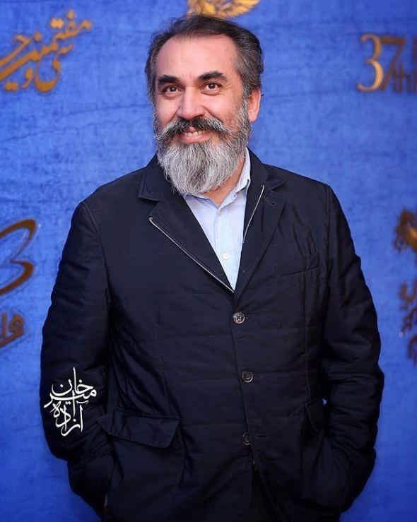 سیامک انصاری در اکران فیلم زهرمار