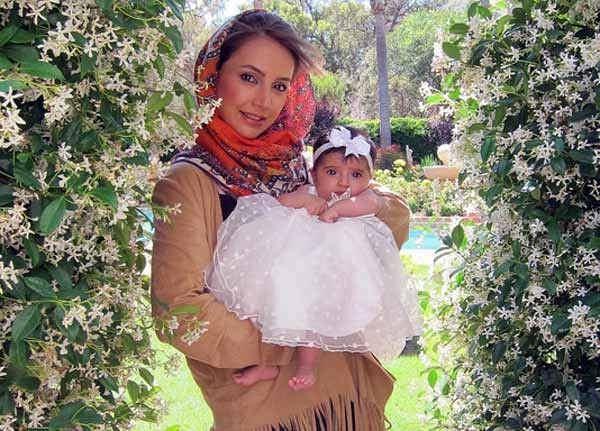 شبنم قلی خانی و دخترش