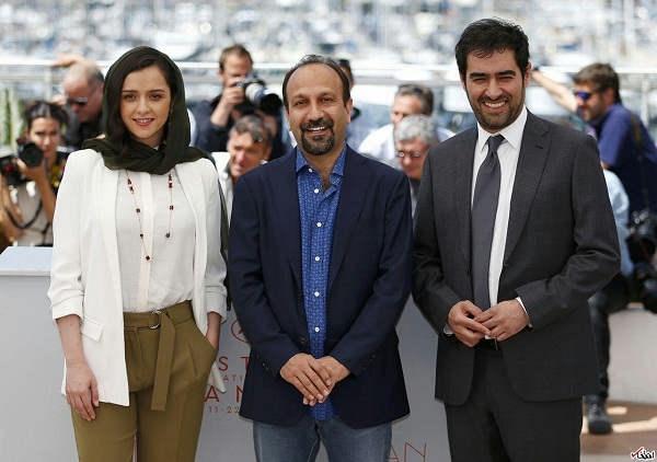 شهاب حسینی، ترانه علیدوستی و اصغر فرهادی د
