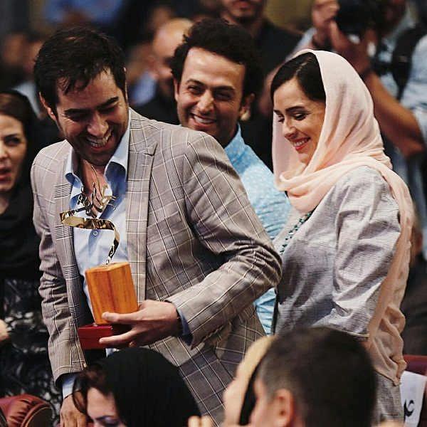 شهاب حسینی؛ترانه علیدوستی؛مصطفی زمانی جشن پایان سریال شهرزاد