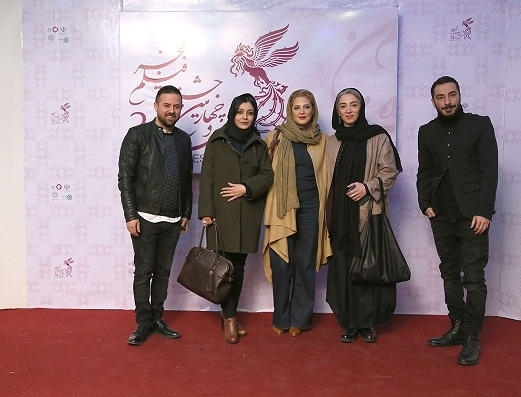 عکس های طناز طباطبایی بازیگر در جشنواره فیلم فجر