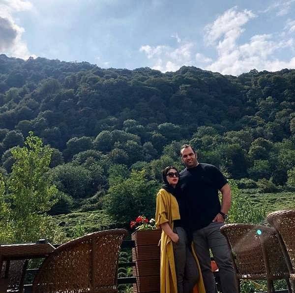 عکس بهداد سلیمی و همسرش