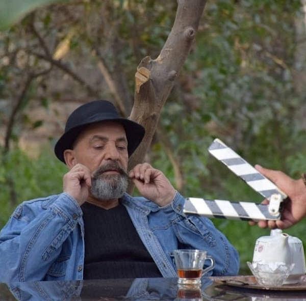 عکس بهرام ابراهیمی در سریال خاک گرم
