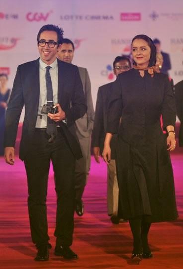 عکس ترانه علیدوستی و همسرش علی منصوری