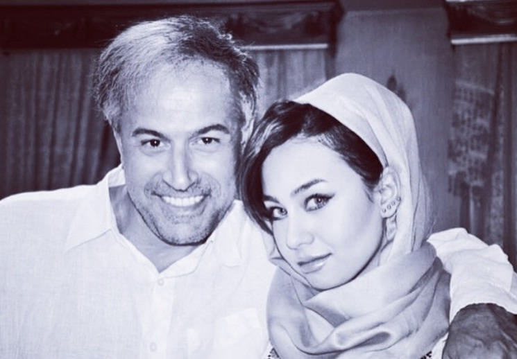 عکس دانیال حکیمی و دخترش دایانا حکیمی۲