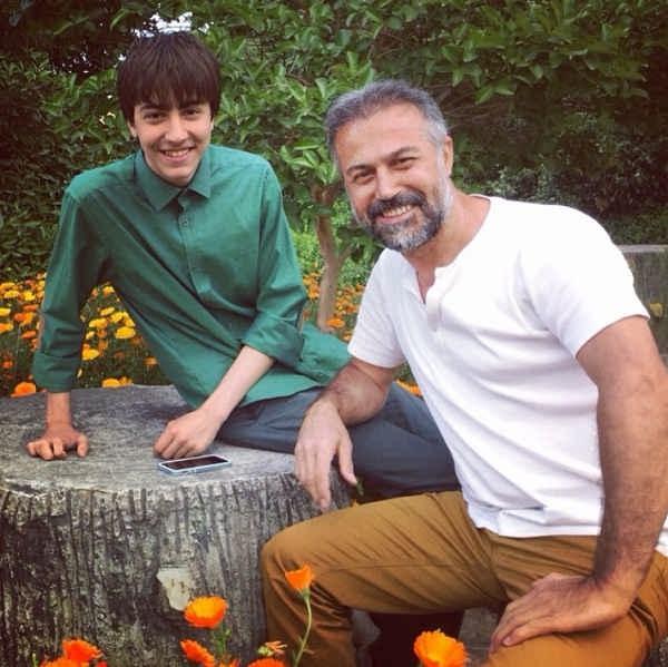 عکس دانیال حکیمی و پسرش دانا حکیمی