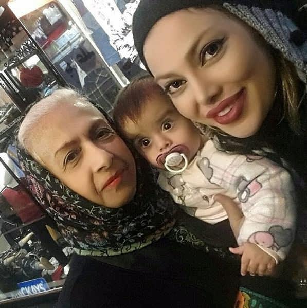عکس دختر و نوه ی سعیده عرب