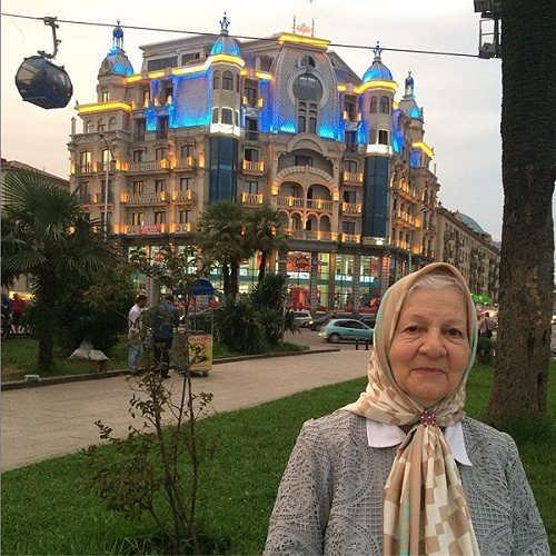 عکس رابعه مدنی بازیگر