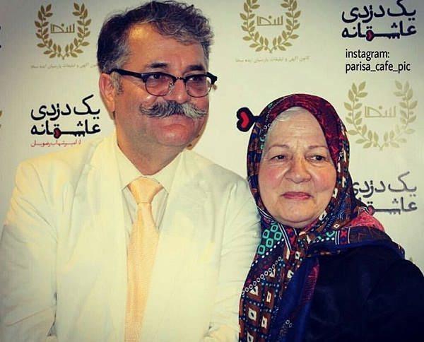عکس رابعه مدنی و پسرش امیرشهاب رضویان