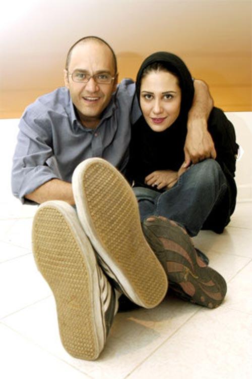 عکس رامبد جوان و همسر اولش ماندانا روحی