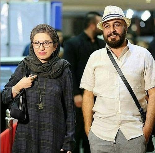 عکس رضا عطاران و همسرش