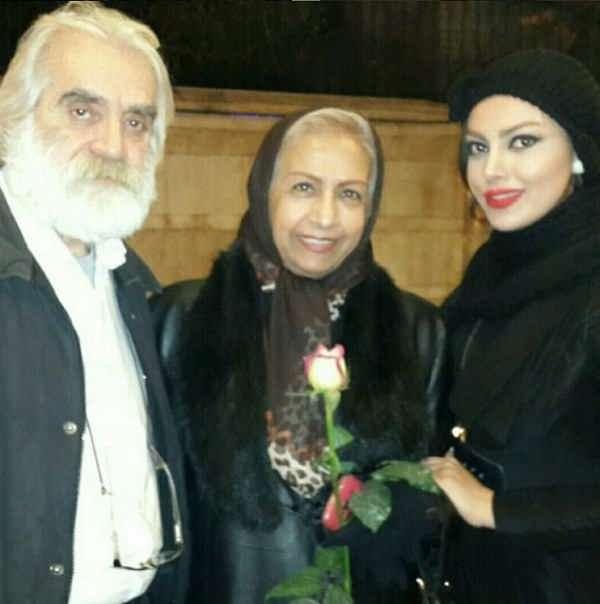 عکس سعیده عرب و دخترش سمیرا در کنار امیر بارانلویی
