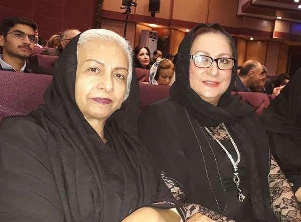 عکس سعیده عرب و مریم امیرجلالی