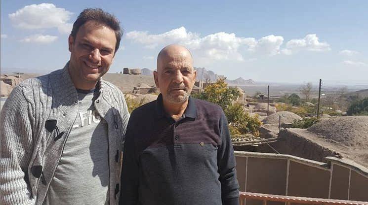 عکس شهروز ابراهیمی در کنار بهرام ابراهیمی