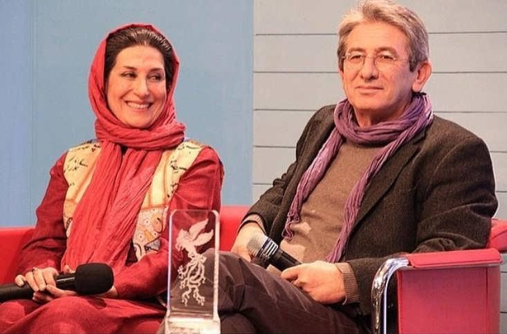 عکس فاطمه معتمدآریا و همسرش احمد حامد