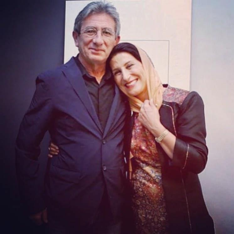 عکس فاطمه معتمدآریا و همسرش احمد حامد۳