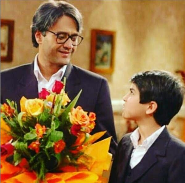 عکس محمد شادانی بازیگر نقش علیرضا در بزرگ مرد کوچک