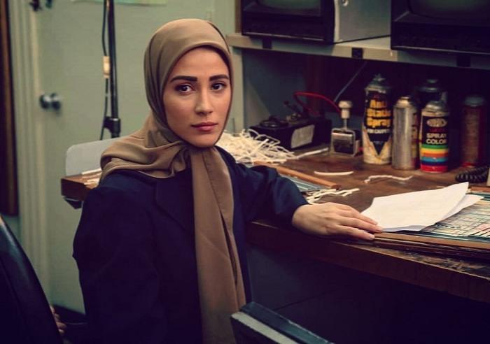 عکس نجوا زمانی بازیگر سریال خط تماس