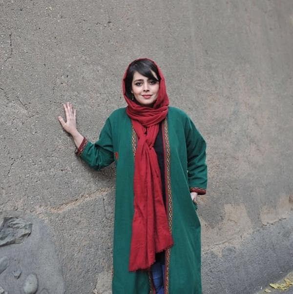 عکس همسر حمیدرضا آذرنگ  ساناز بیان۳