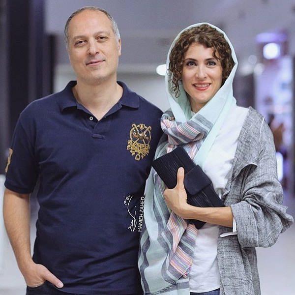 عکس ویشکا آسایش و همسرش رضا قبادی