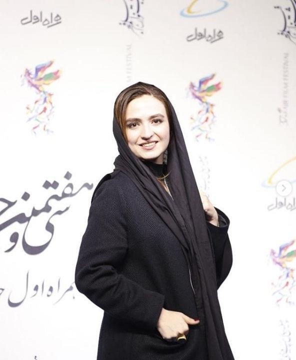 عکس گلاره عباسی در جشنواره فیلم فجر