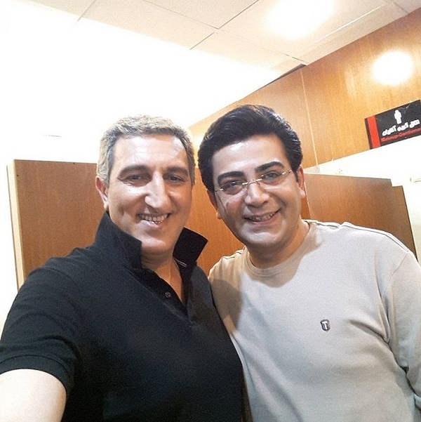 عکس یوسف صیادی و فرزاد حسنی