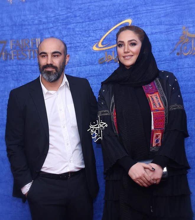 محسن تنابنده و همسرش - فیلم قسم