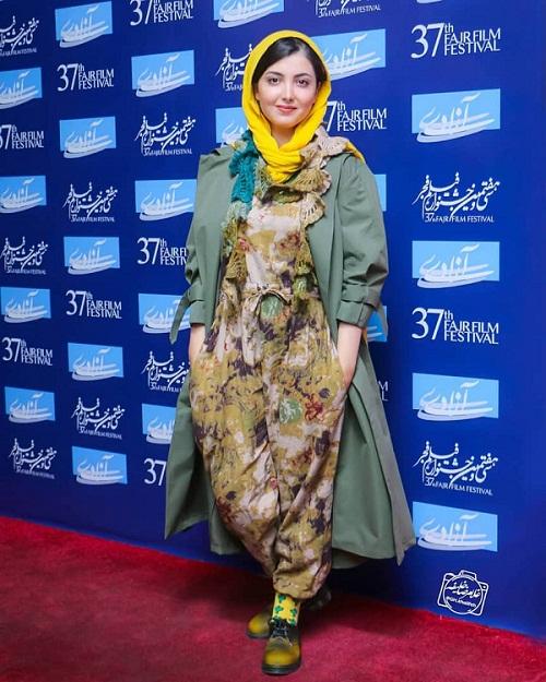 مدل مانتو بازیگران جشنواره فجر ۹۷ - ژیبا کرمعلی ۷
