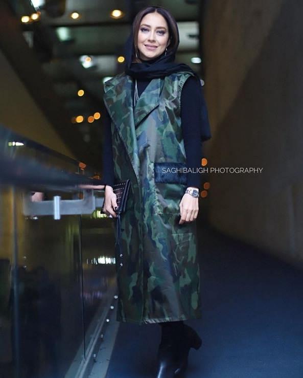 مدل مانتو بازیگران در جشنواره فجر ۹۷ - بهاره کیان افشار