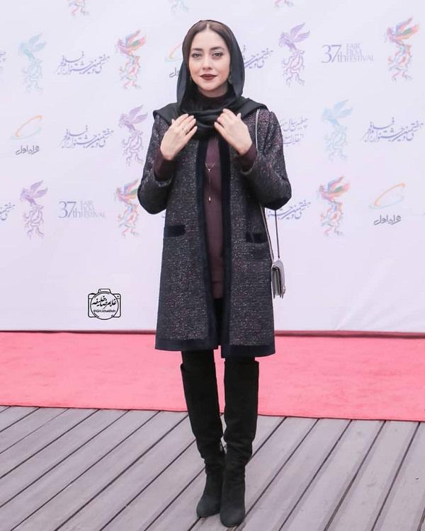 مدل مانتو بازیگران در جشنواره فجر ۹۷ - بهاره کیان افشار۴