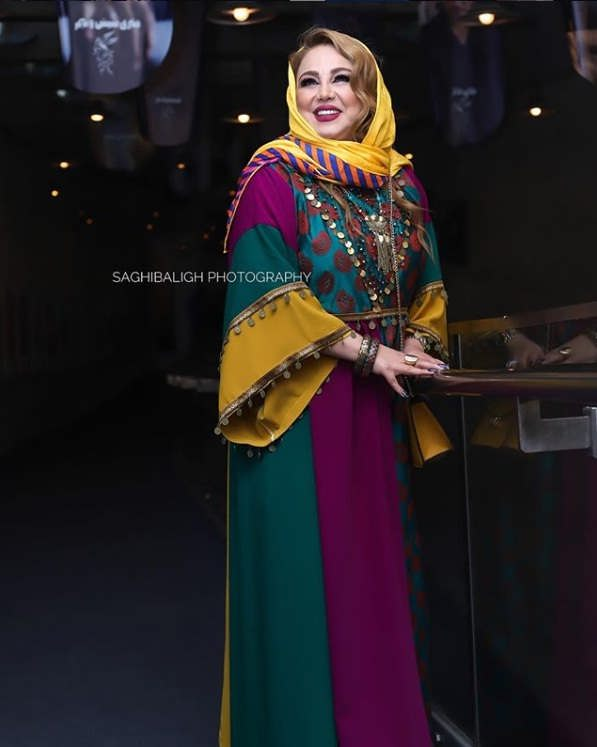 مدل مانتو بازیگران در جشنواره فجر ۹۷ - بهنوش بختیاری۲